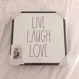 Rae Dunn Live Laugh Love Canvas